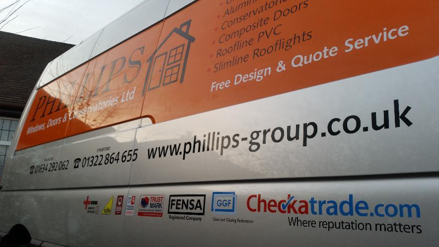 van signwriting - cut vinyl